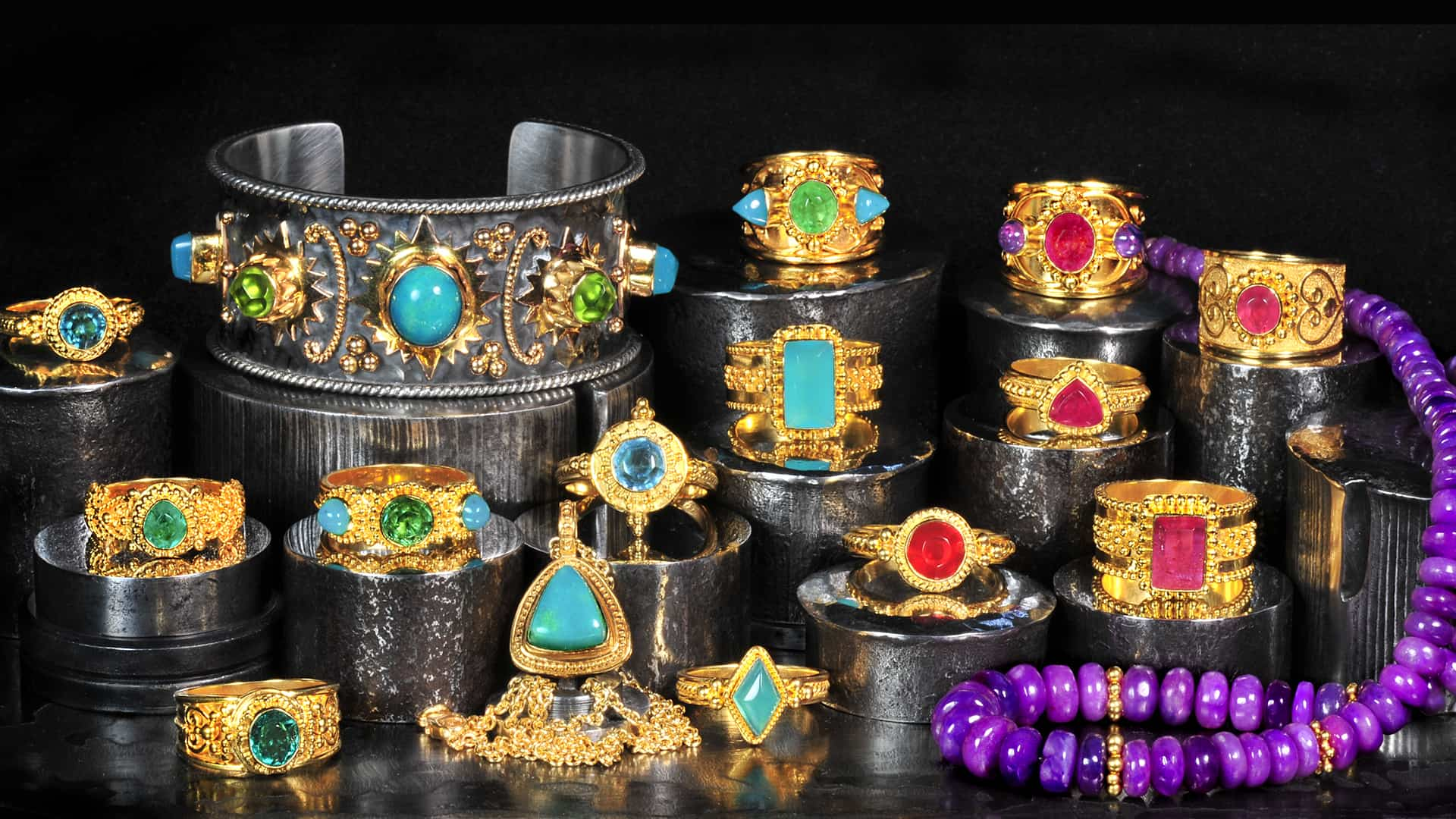 Gold Handmade Jewelry | Ancient Roads Jewelry – Designs by